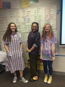 Jordan, Mme Cash, et Anna G.